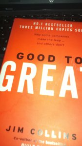 Good to Great... By Jim Collins